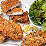 سریعترین روش برای پخت شنیسل مرغ