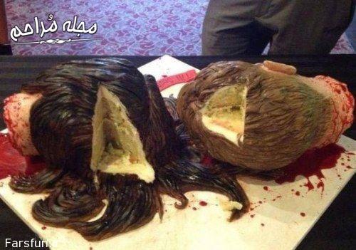 کیک عروسی وحشتناک (تصاویر)