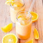 طرز تهیه اسموتی لیمو و پرتقال