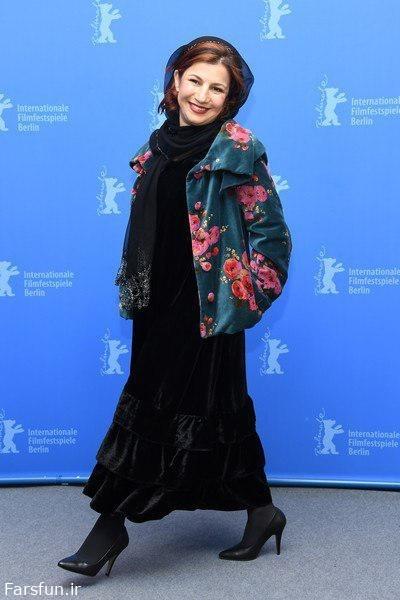 لیلاحاتمی،پریناز ایزدیار و لیلی رشیدی در جشنواره برلین/عکس