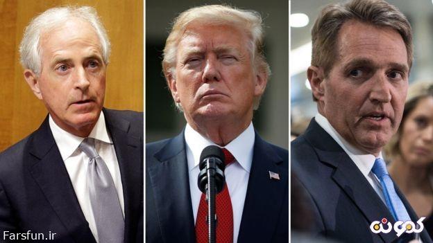 جنگ لفظی دونالد ترامپ با نمایندگان مجلس/ رفتار ترامپ مشمئزکننده است