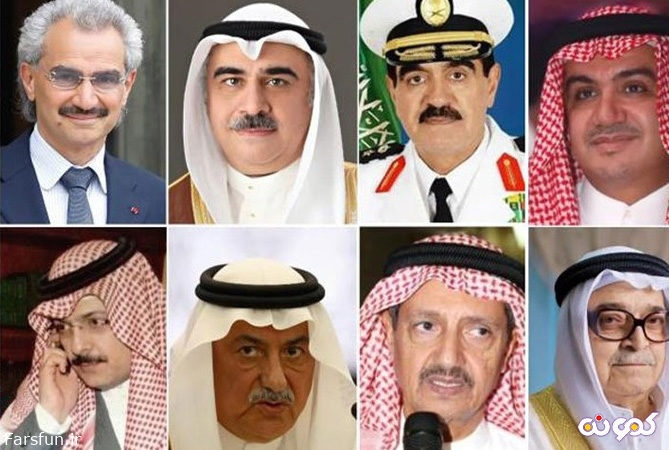 شاهزاده های بازداشتی سعودی را از پا آویزان کردند!
