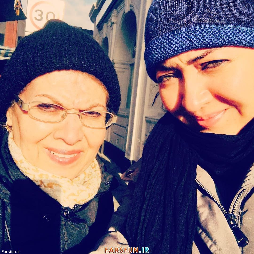 مهستان » عکس های شخص نیکی کریمی,عکس خانوادگی نیکی کریمی,نیکی کریمی در لندن