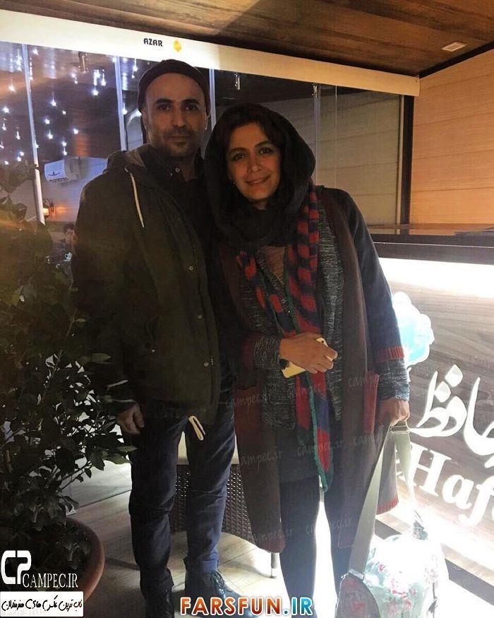 عکس شخصی الهام کردا با همسرش سعید چنگیزیان