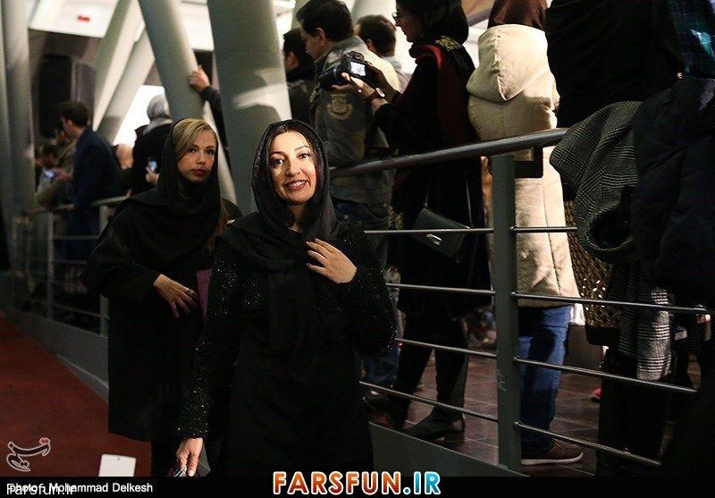 نگار عابدی در چهارمین روز جشنواره فیلم فجر