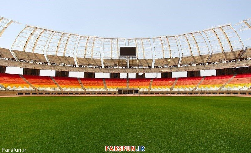 عکس جدید ورزشگاه نقش جهان