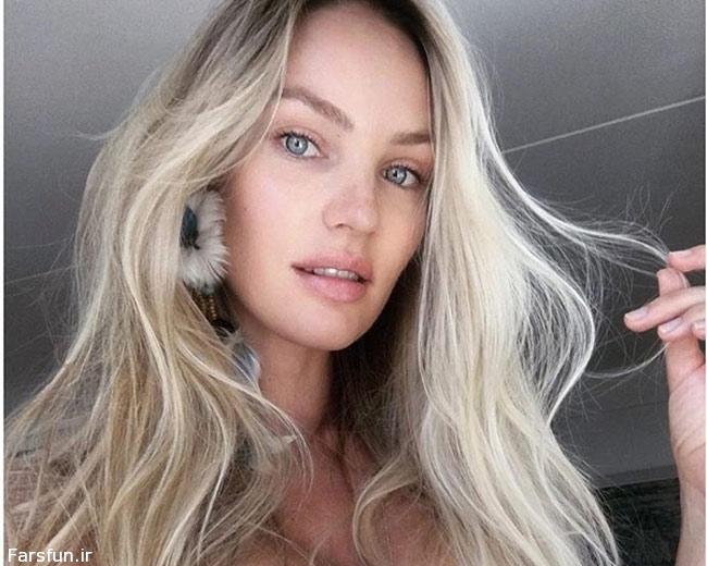 معروف ترین مدل ها بدون آرایش