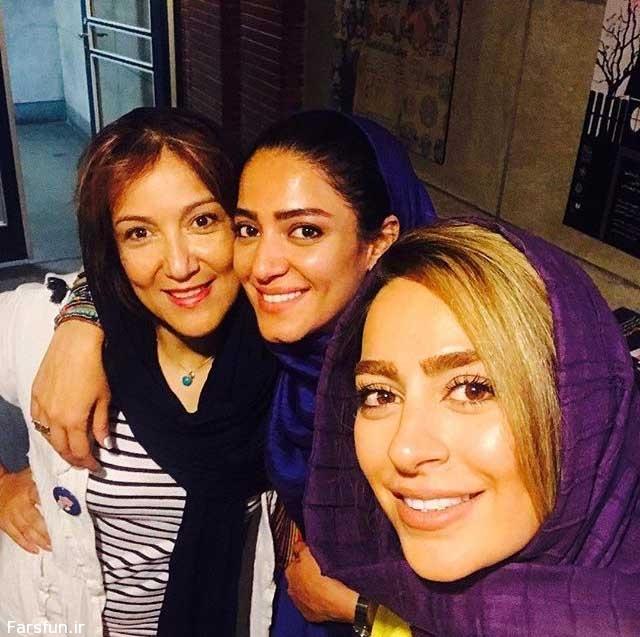 تیپ متفاوت ۳ بازیگر زن در کنار هم + عکس