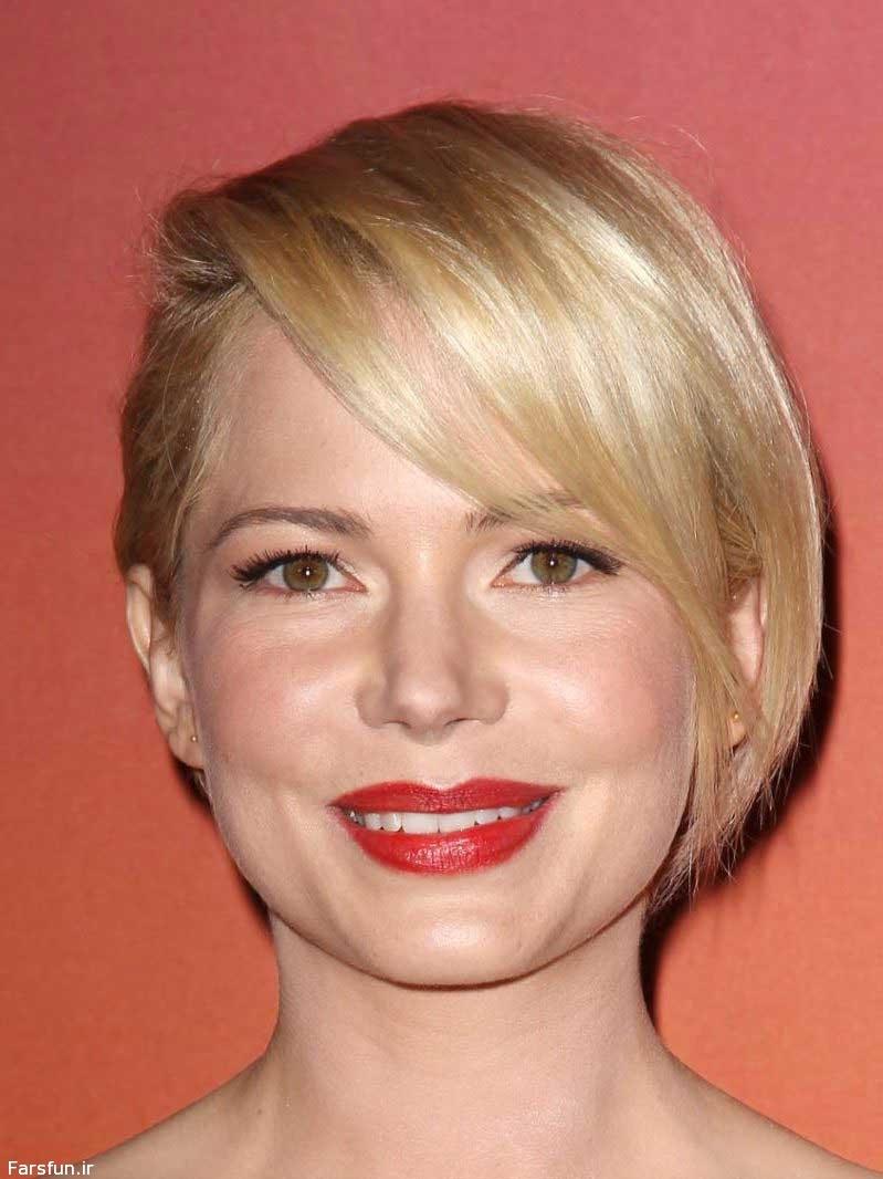 برای خانم ها : مدل موی کوتاه برای انواع فرم صورت