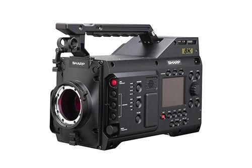 دوربین ۸K شارپ با قیمت ۷۷ هزار دلار رونمایی شد + عکس