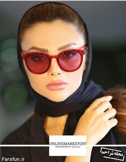 عکس های مدلینگ نسیم نهالی همسر محسن فروزان