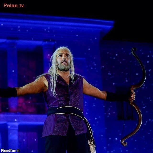 عکس/ «بهرام رادان» در نقش زال پروژه «سی»