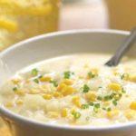 طرزتهیه سوپ سفید