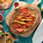طرز تهیه غذای ترکی اسکندر کباب