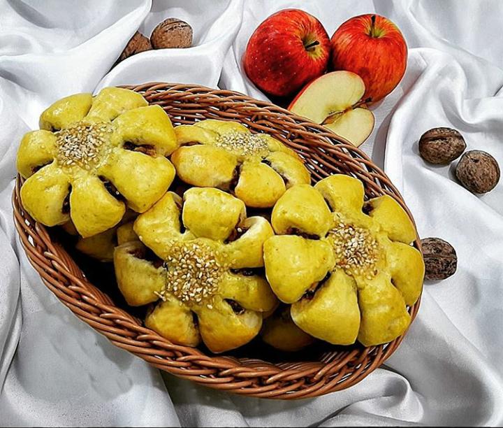 طرز تهیه کوکی سیب