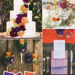 راهنمای انتخاب بهترین ترکیب رنگ ها تم عروسی