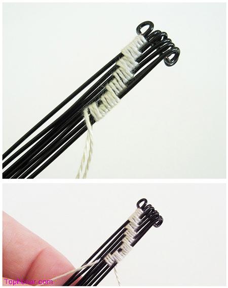 شیوه ساخت دستبند, آموزش مرحله ای ساخت دستبند