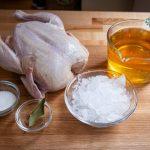 طرز تهیه مرغ سوخاری سیب
