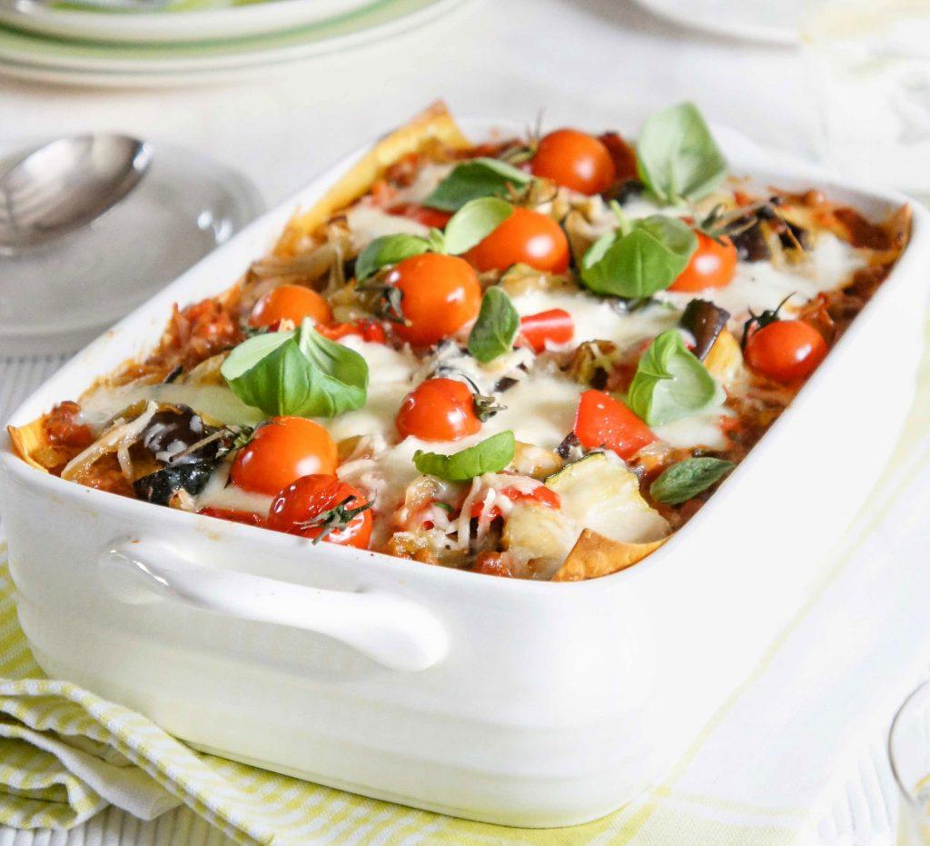 طرز تهیه لازانیای سبزیجات