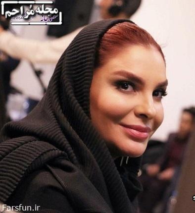 بیتا اصلانی همسر هومن سیدی در جشنواره فیلم فجر