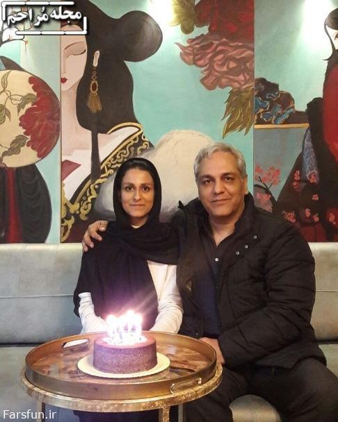 مهران مدیری و شهرزاد مدیری,تولد دختر مهران مدیری