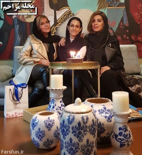 دوستان شهرزاد مدیری در جشن تولد